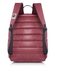 Colmar Red Quilted Backpack for men