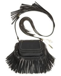 Carlos By Carlos Santana - Black Mini Flap Crossbody - Lyst