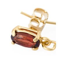 Wouters & Hendrix - Red 'playfully Precious' Garnet Earrings - Lyst