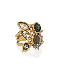 Alexis Bittar | Metallic Elements Confetti Charm Cocktail Ring | Lyst
