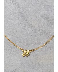 Forever 21 | Metallic Makko Hashtag Necklace | Lyst