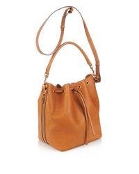 Saint Laurent - Brown Emmanuelle Medium Bucket Bag - Lyst
