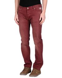 Roy Rogers | Red Casual Trouser for Men | Lyst