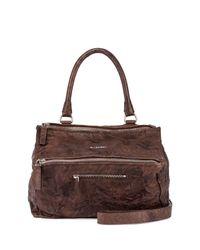 Givenchy - Brown Pandora Medium Leather Satchel Bag - Lyst