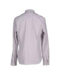 Burberry Brit | Gray Shirt for Men | Lyst
