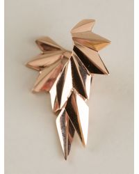 Maria Black | Pink 'Wing Reverse' Right Single Earring | Lyst