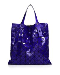 Bao Bao Issey Miyake | Blue Prism Basic Metallic Faux Leather Tote | Lyst