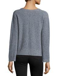 J Brand - Blue Burlington Long-sleeve Sweater - Lyst