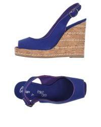 Castaner - Blue Sandals - Lyst