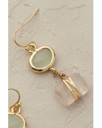 Anthropologie | White Sayuri Drop Earrings | Lyst