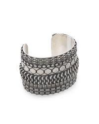DANNIJO | Metallic Roxanna Cuff | Lyst