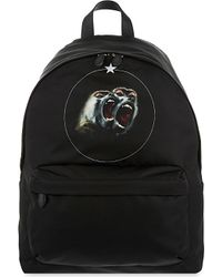 Givenchy - Black Twin Monkey Backpack for Men - Lyst