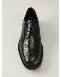 KENZO - Black Cole Oxford Shoes for Men - Lyst
