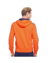 Ralph Lauren - Orange Cotton-blend-fleece Hoodie for Men - Lyst