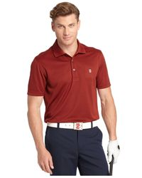 Izod | Orange Champion Basics Performance Golf Polo for Men | Lyst