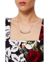 Daniela Villegas   Metallic 18k Gold And Champagne Diamonds Centipede Necklace   Lyst