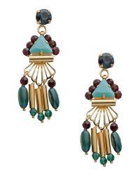 La Perla - Multicolor Earring - Lyst
