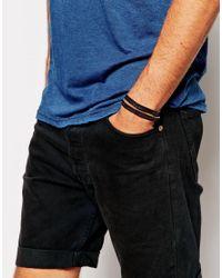 Royal Republiq | Brown Philosophy Leather Wrap Bracelet for Men | Lyst