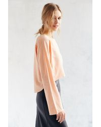 Silence + Noise - Pink Dana Top - Lyst