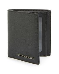 Burberry - Black 'rowan' Wallet for Men - Lyst
