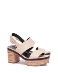 Tory Burch - Natural Solana Espadrille Sandal - Lyst