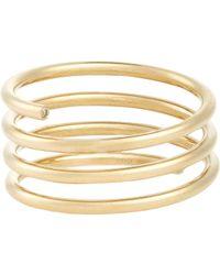 Sophie Bille Brahe | Metallic Pirouette Ressort Ring | Lyst