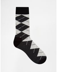 Happy Socks - Black Hs By In 3 Pack for Men - Lyst