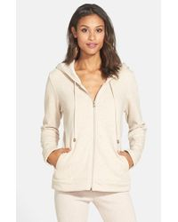 Ugg | Natural Double Knit Hoodie | Lyst