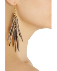 Ashley Pittman - Brown Shuka Earrings - Lyst