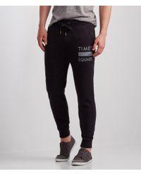 Aéropostale | Black Times Square Jogger Sweatpants for Men | Lyst