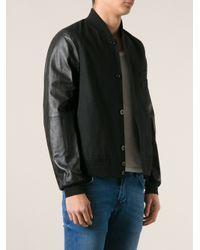 Paul Smith | Black Bomber Jacket for Men | Lyst