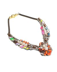 Shourouk - Multicolor Tabatha Necklace - Lyst