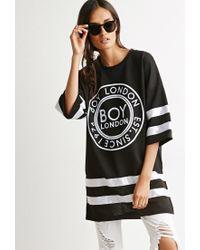 Forever 21 - Black Boy London Hockey Dress - Lyst