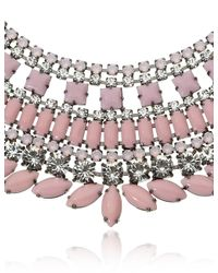 Tom Binns | Metallic Pink Neopolitano Necklace | Lyst