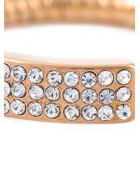 Vita Fede - Metallic Crystal Pavé Coil Ring - Lyst