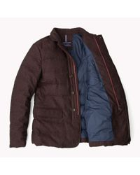 Tommy Hilfiger - Purple Quilted Wool Blazer for Men - Lyst