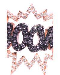 Diane Kordas | Pink Black Diamond Boom Ring | Lyst