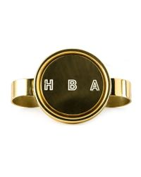 Hood By Air - Metallic 'hba' Multi Finger Ring for Men - Lyst