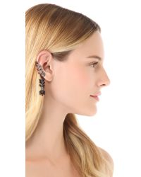Ca&Lou - Black Cara Long Lobo Ear Cuff - Lyst