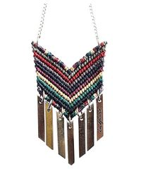 Wakami | Black P.s. Inspire Necklace (red Multi) | Lyst