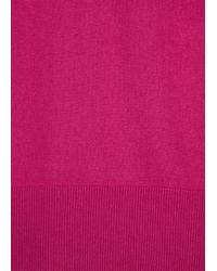 Étoile Isabel Marant - Purple Nathael Fuchsia Cotton Blend Jumper - Lyst