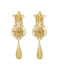 Isabel Marant - Metallic San Pedro Ornate Drop Earrings - Lyst