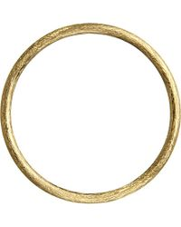 Annoushka - Metallic Hoopla 18ct Yellow-gold Hoop Pendant - Lyst