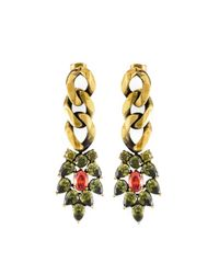 Iosselliani | Metallic 'all That Jewels' Earrings | Lyst