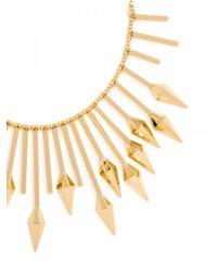 BaubleBar | Metallic Gold Kocoum Bib | Lyst
