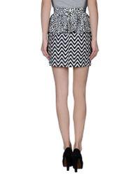 Marco Bologna - Black Mini Skirt - Lyst