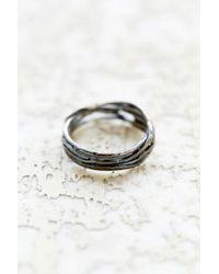 Rachel Pfeffer | Metallic Designs Sterling Heart Nest Ring | Lyst