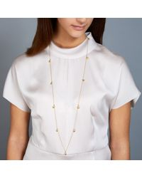 Astley Clarke | Metallic Disc Stilla Long Necklace | Lyst