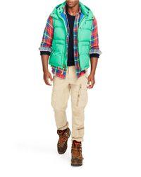 Polo Ralph Lauren | Blue Elmwood Down Vest for Men | Lyst