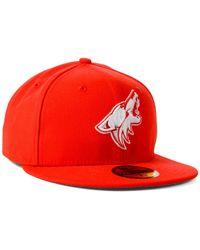 KTZ | Orange Arizona Coyotes C-dub 59fifty Cap for Men | Lyst